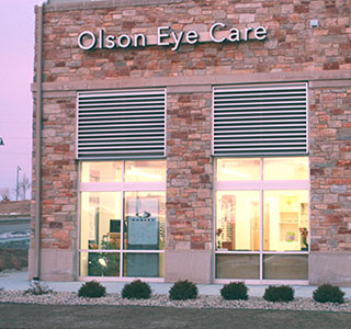olson eyecare outside